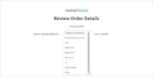 Handel kontraktami futures: Platformy TS