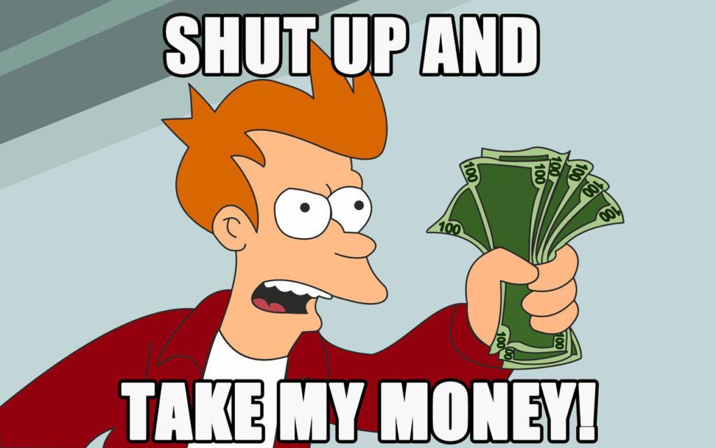Dziennik - shut up and take my money